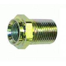 QC, Male w/valve, #8,