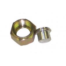 Plug, 1/2 (8) F O-Ring